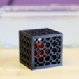 Download free 3D printing designs Multi-Color Ball in a Cube, MosaicManufacturing