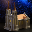 Download free STL files Multi-color Cathedral, MosaicManufacturing