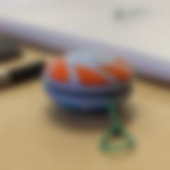 Free STL  Multi-Color Yo-yo / Yoyo (v1), MosaicManufacturing