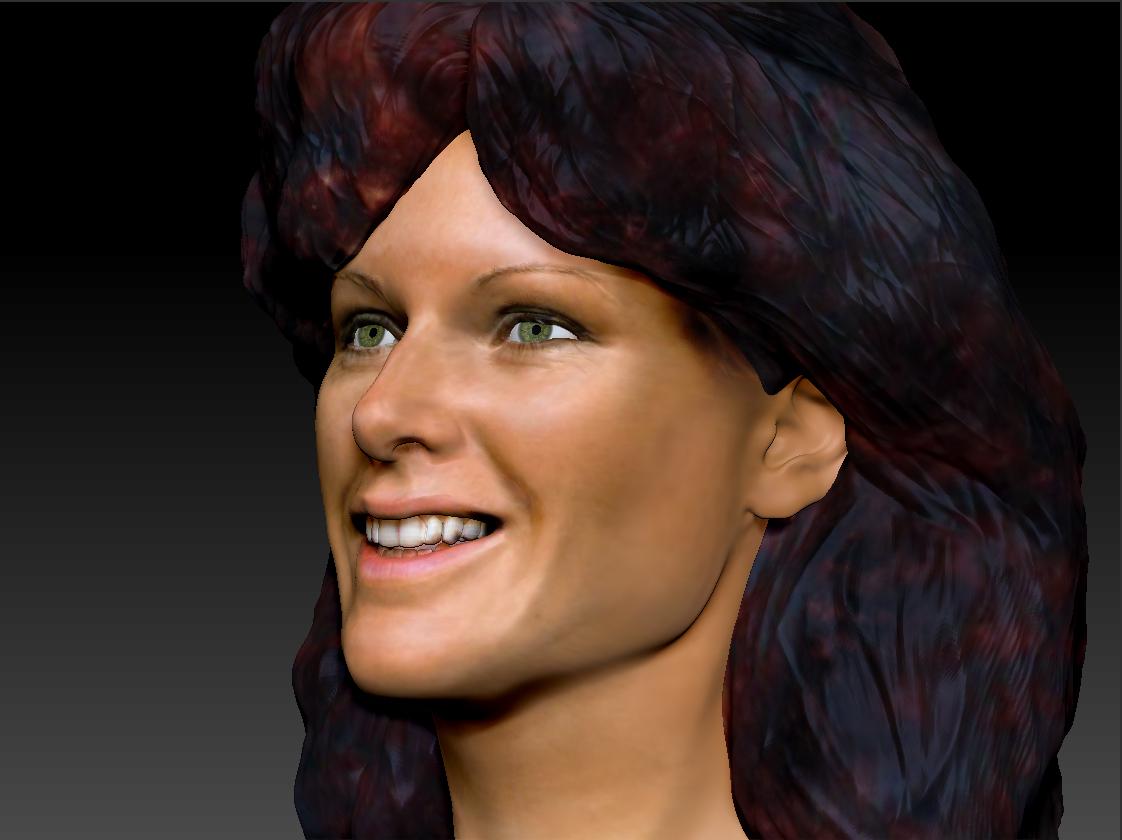 AnniFrid_0014_Layer 6.jpg Télécharger fichier STL gratuit Anni-Frid du buste d'Abba • Design pour imprimante 3D, JanM15