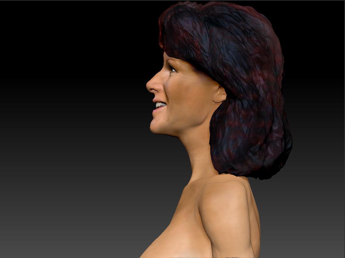 AnniFrid_0009_Layer 11.jpg Télécharger fichier STL gratuit Anni-Frid du buste d'Abba • Design pour imprimante 3D, JanM15
