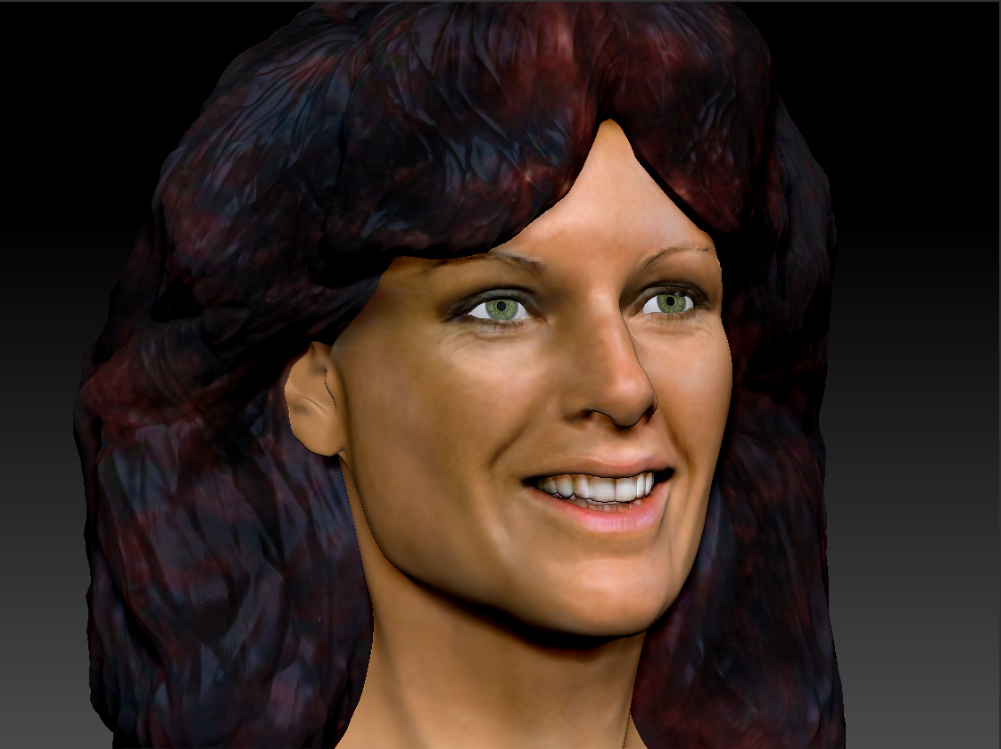 AnniFrid_0013_Layer 7.jpg Télécharger fichier STL gratuit Anni-Frid du buste d'Abba • Design pour imprimante 3D, JanM15