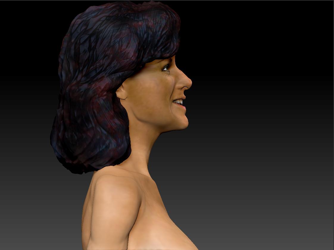 AnniFrid_0010_Layer 10.jpg Télécharger fichier STL gratuit Anni-Frid du buste d'Abba • Design pour imprimante 3D, JanM15