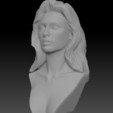 Download 3D printer files Gal Gadot Wonder Woman bust, JanM15