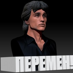 Tsoi_0020_Layer 1.jpg Download free STL file Viktor Tsoi 3d bust Виктор Цой Пермен 3д бюст • 3D printable template, JanM15