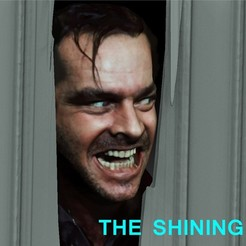 Download STL file The Shining Jack Nicholson door scene, JanM15