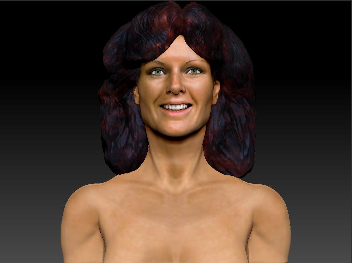 AnniFrid_0012_Layer 8.jpg Télécharger fichier STL gratuit Anni-Frid du buste d'Abba • Design pour imprimante 3D, JanM15