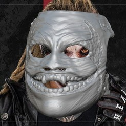 Download 3D printer files WWE Bray Wyatt Fiend Mask, JanM15