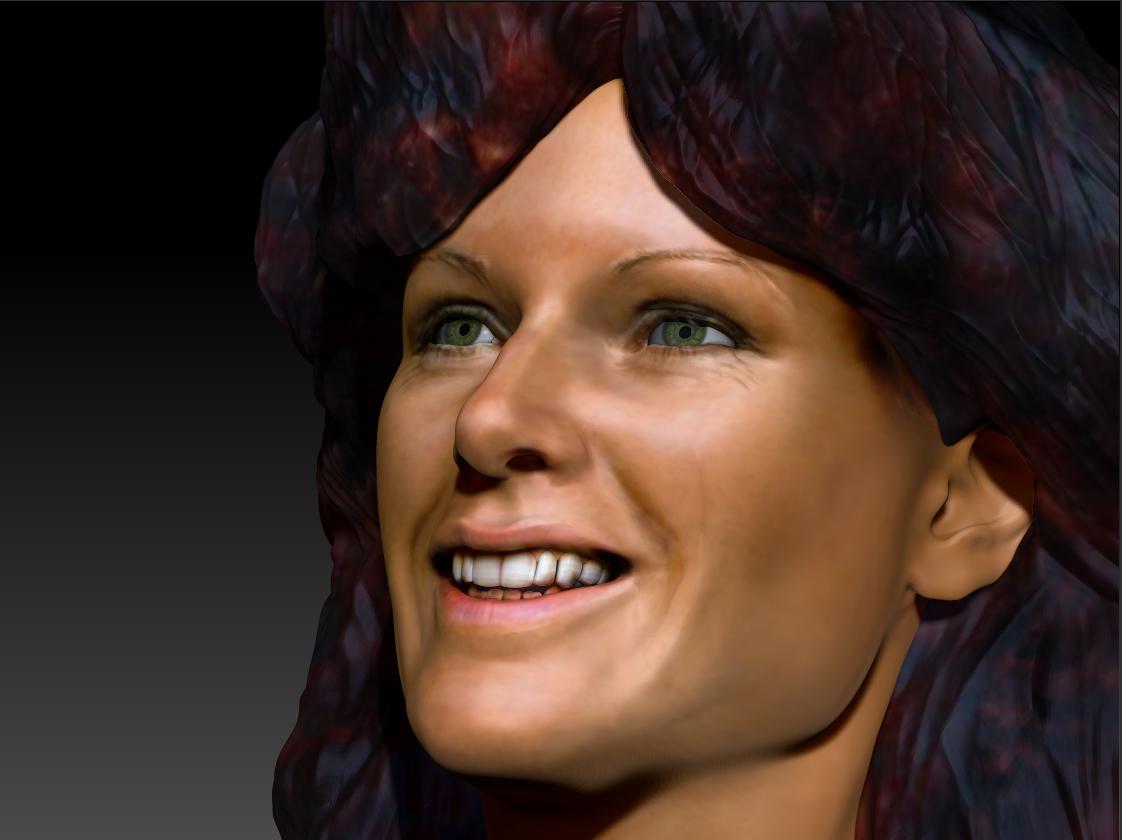 AnniFrid_0008_Layer 12.jpg Télécharger fichier STL gratuit Anni-Frid du buste d'Abba • Design pour imprimante 3D, JanM15