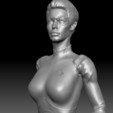 Télécharger plan imprimante 3D Star Trek Seven of Nine Jeri Ryan, JanM15
