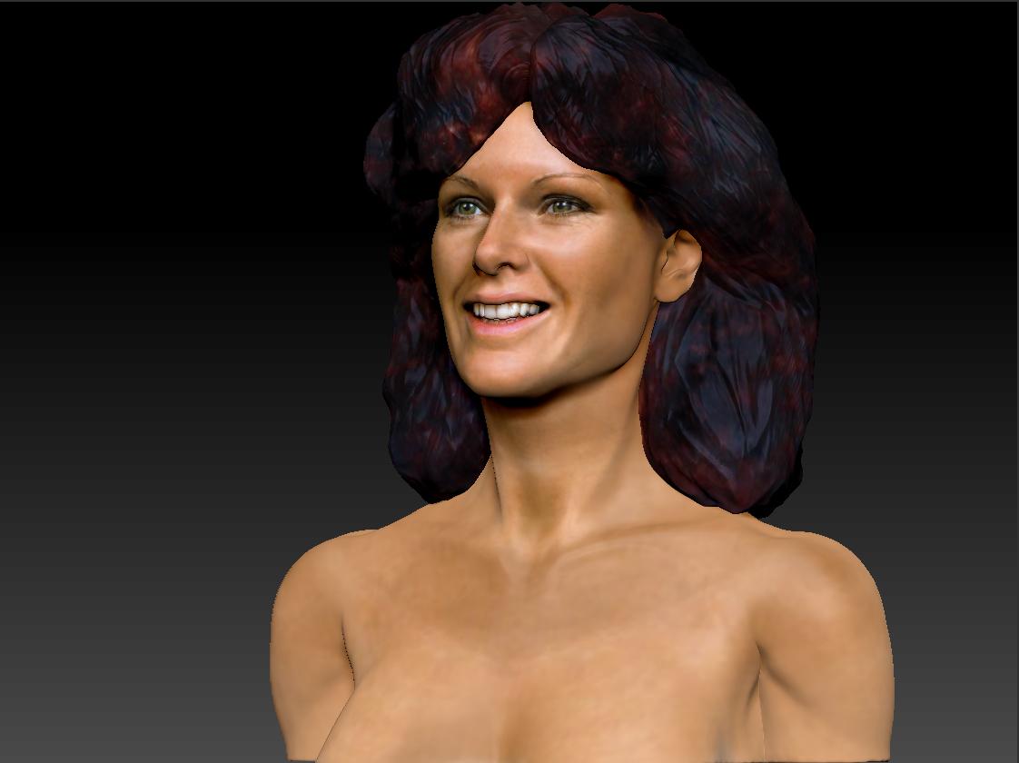 AnniFrid_0018_Layer 2.jpg Télécharger fichier STL gratuit Anni-Frid du buste d'Abba • Design pour imprimante 3D, JanM15