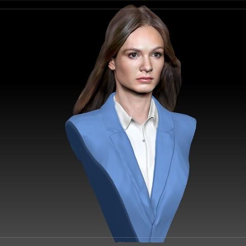Télécharger fichier 3D gratuit Olga Li, la femme russe Terminator, JanM15