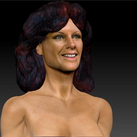 AnniFrid_0017_Layer 3.jpg Télécharger fichier STL gratuit Anni-Frid du buste d'Abba • Design pour imprimante 3D, JanM15