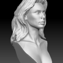 Download 3D printer files Gal Gadot Wonder Woman bust, JanM15