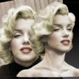 STL Marilyn Monroe bust, JanM15