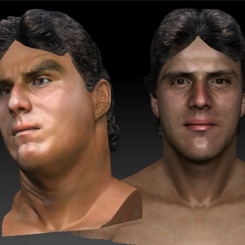 Download 3D printer designs Jose Canseco several 3d busts, JanM15