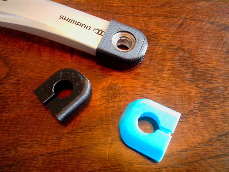 crank_boot_shimano.jpg Download STL file Protection manivelle SHIMANO (Crank boots) • 3D printing model, Riko