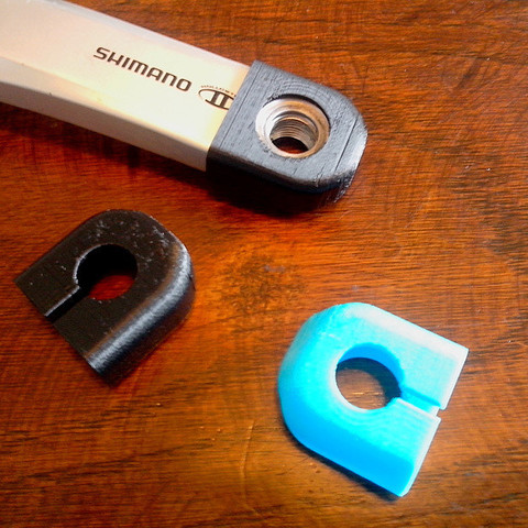 3d printer model Protection manivelle SHIMANO (Crank boots), Riko