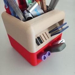 Free 3D model The Little box: Pencil pot, ZeBlate