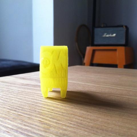 FLCL_2_2.jpg Download free STL file FLCL Dog  • 3D print object, Valello