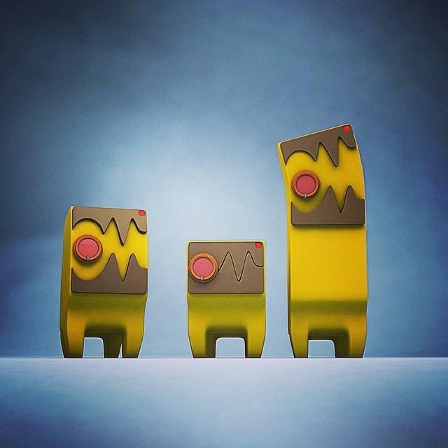 10802047_384635601696650_906517818010954405_n.jpg Download free STL file FLCL Dog  • 3D print object, Valello