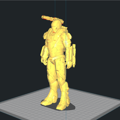 Download free 3D printer templates Ironman War machine-Repaired and cut, suatbatu
