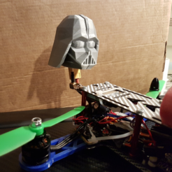 Download free 3D printing files Darth Vader Clover Leaf Antenna Cover, suatbatu