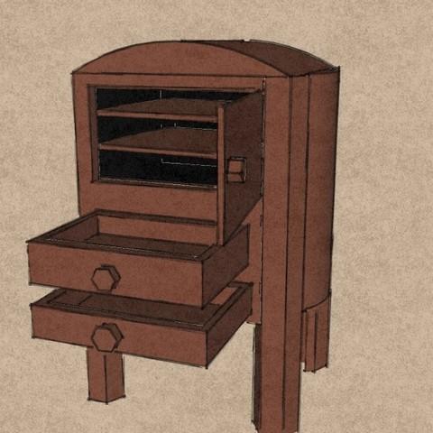 3d printer designs ARMOIRE, leon