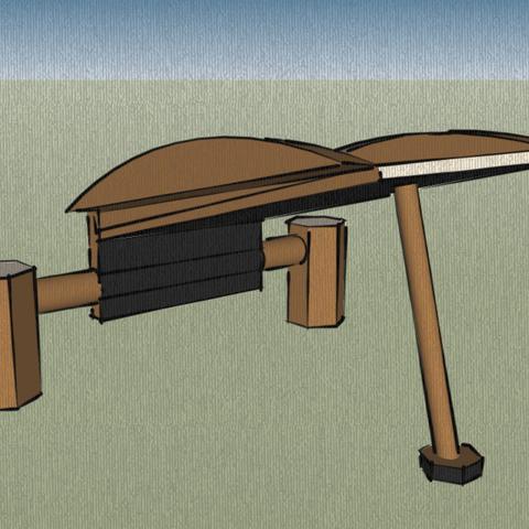 CHARIOT 3D model, leon