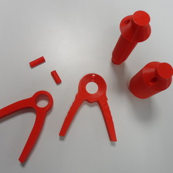 Free 3D printer file Support de bobines, Makershop