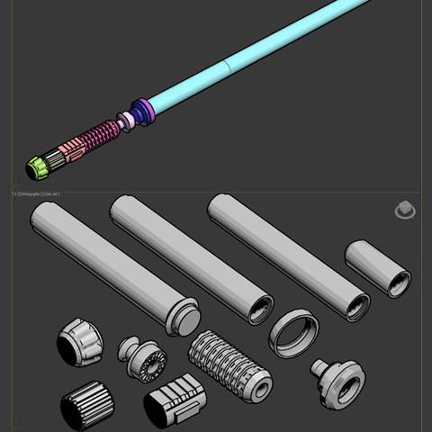 Untitled-2.jpg Télécharger fichier STL gratuit Sabre Laser • Design pour impression 3D, Makershop