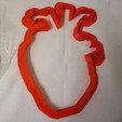 coeur1.jpg Download STL file Cookiecutter Heart • 3D printing object, Lina_Thomas