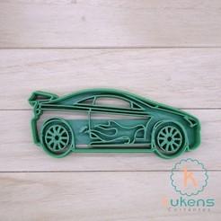 auto hotwheels.jpg Download STL file Auto HotWheels Cookies Cutter • 3D printable design, Kukens