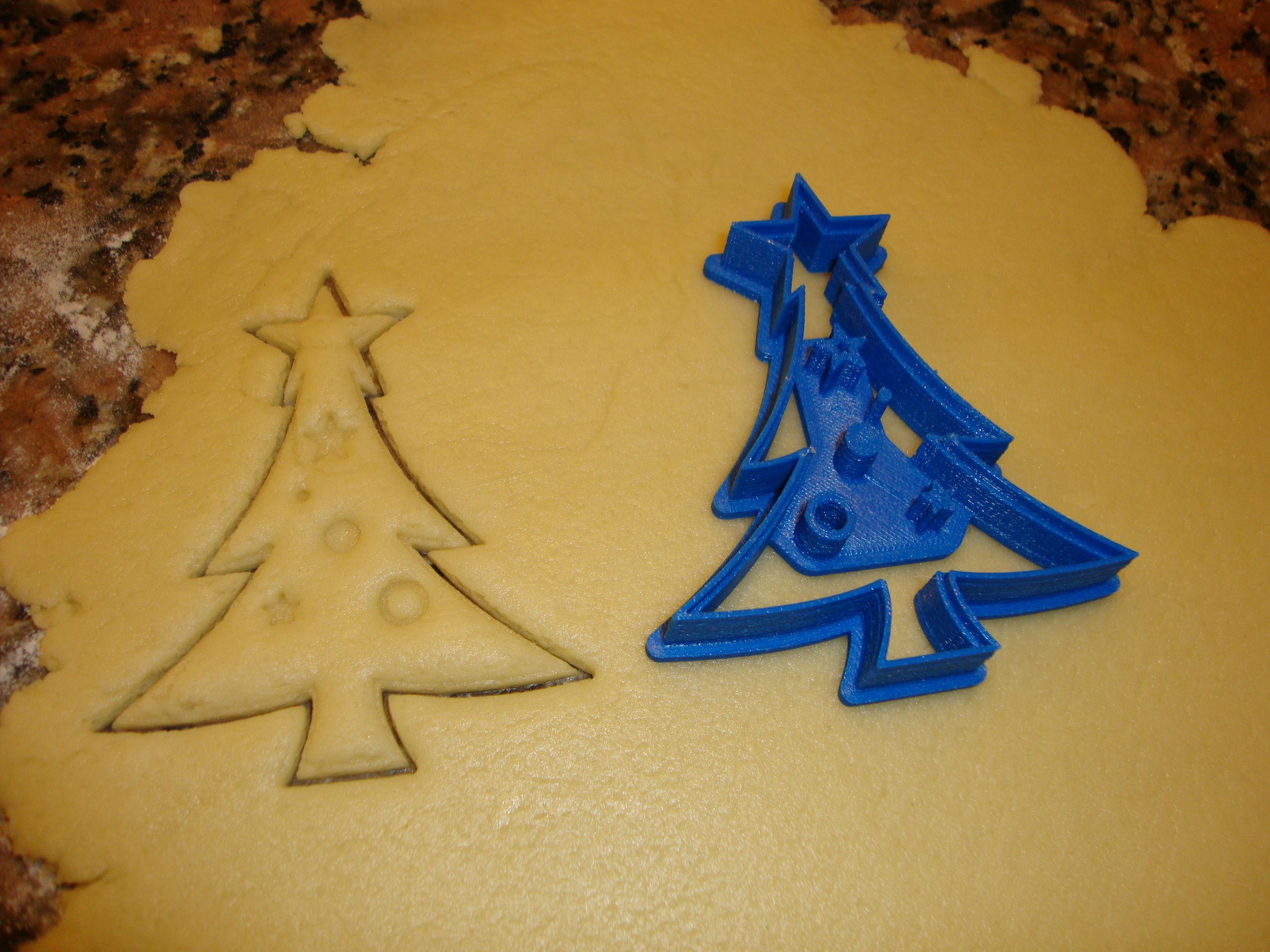 DSC04551.JPG Download STL file Cookie Cutter Christmas Tree • 3D printer template, Kukens