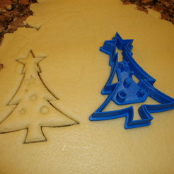 Fichier impression 3D Cookie Cutter Christmas Tree, hernan_g