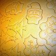 3d printer designs Cookie Cutter Christmas Tree, hernan_g