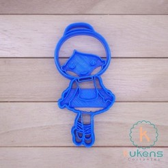 Download 3D printing models Cookies Cutter, Kukens