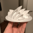 Download free STL file Sydney Opera House • Object to 3D print, cgtyklnc