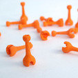Free Ball to Socket Posts 3D printer file, OgoSport
