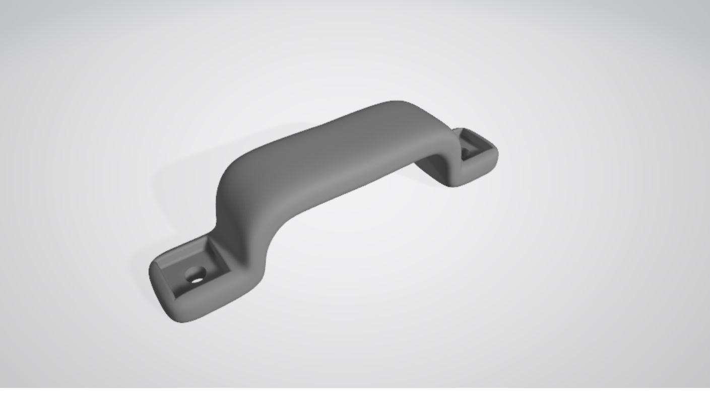 Poignée.JPG Télécharger fichier STL gratuit Poignée à deux fixations • Objet pour impression 3D, gcarali