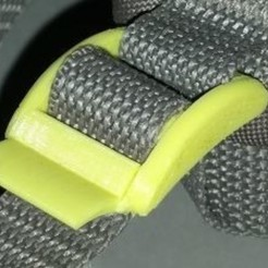 Free 3D printer designs Buckle for backpack strap, gcarali