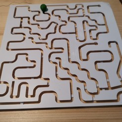 IMG_20200607_162848.jpg Download free STL file Labyrinth Puzzle Game • 3D printable template, gcarali