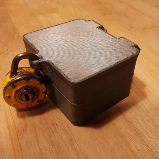 Télécharger fichier imprimante 3D gratuit Mini Coffre Fort Enfant , gcarali