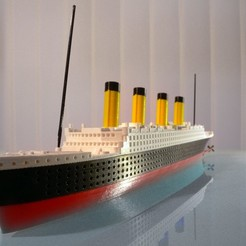 3d printer files titanic, MaoCasella