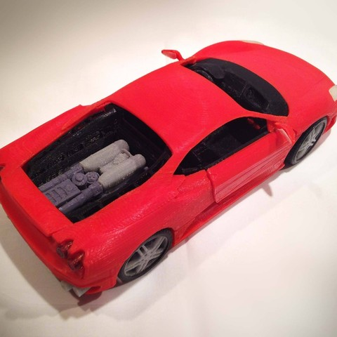 2.jpg Download STL file Italian sports car • 3D printable model, MaoCasella