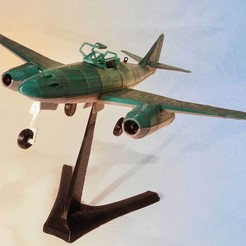 3d printer designs messerschmitt me 262, MaoCasella