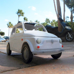 italian sixties car STL file, MaoCasella