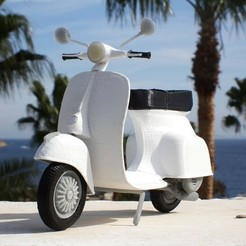 Download STL files Italian Scooter, MaoCasella
