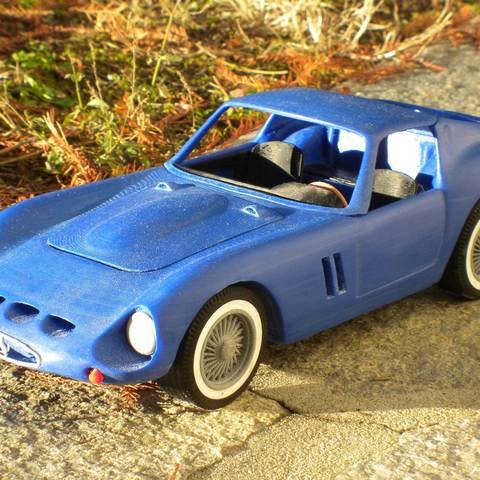 3d printer files ferrari 250 gto, MaoCasella