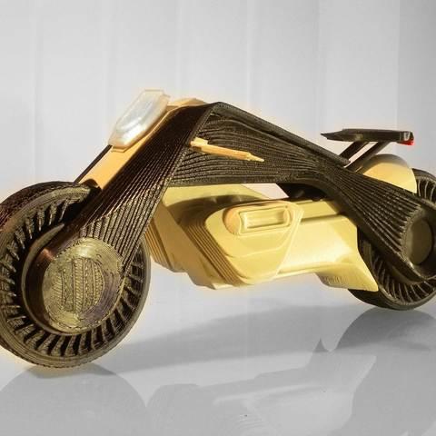Télécharger fichier 3D BMW concept motorrad, MaoCasella